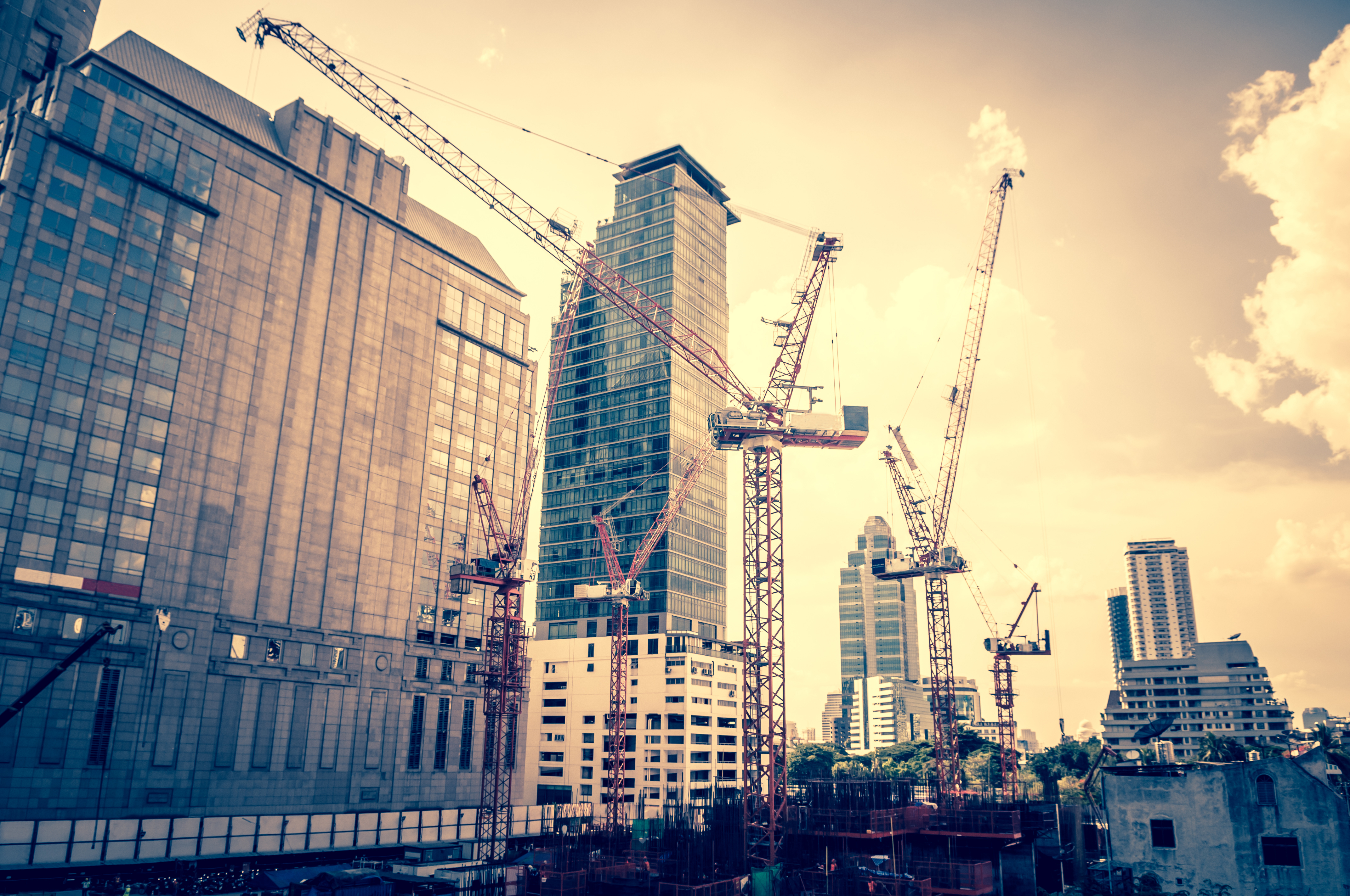 Construction growth in London | Highfield Professional ...